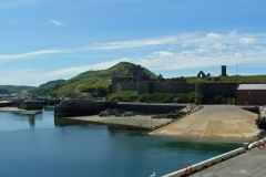 Peel-Castle-from-the-Harbour