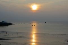 Sunset-Port-Erin-bay-2