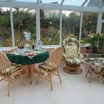 Image of table and chairs in conservatory