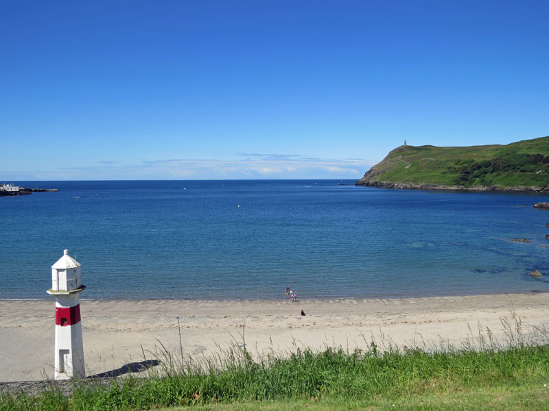 Image of beach at Port Erin
